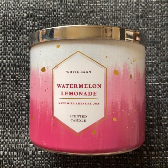 👽FLASH SALE👽 Watermelon Lemonade - BBW 3 Wick candle